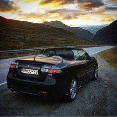 This picture is really wow! And the #Saab even more! Owner; @saab_norway