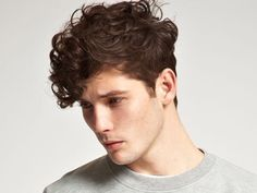 Image result for hairstyles for curly hair men