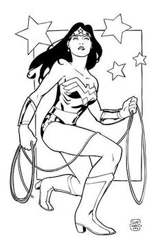 Related Pictures wonder woman colouring pages index of | Colouring ...