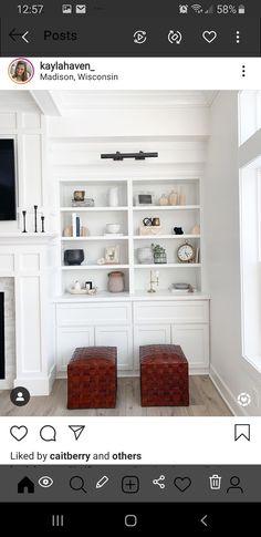 Wall Unit Decor, Bookcase, Shelves, Living Room, Home Decor, Shelving, Decoration Home, Room Decor, Book Shelves