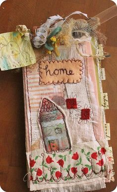 home is where the art is - journal i made a few months ago.