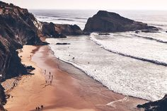 """Costa Vicentina - #Portugal´s Wild Coast   via Condé Nast Traveller UK   April 2017 Issue  """"At the very tip of south-west Portugal lies Costa Vicentina, the last wild coast in Europe, an untouched surfer enclave between Alentejo and the Algarve where the crashing waves drown out the hubbub of the world"""""""