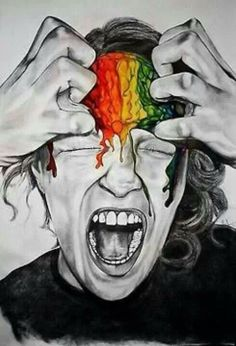 I scream in color