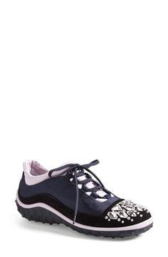 Miu+Miu+Jeweled+Cap+Toe+Sneaker+(Women)+available+at+#Nordstrom
