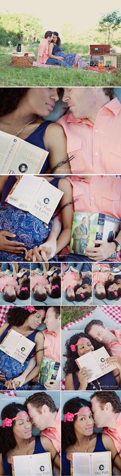 Parenting books or storybooks work well for maternity  Comic book and romance book for engagement?
