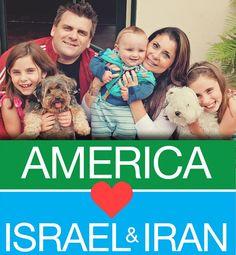 Mensaje simple: Nosotros, Os Amamos -We Love You #Israel #Iran #Guerra #Paz #Amor #AntiNuevoOrdenMundial