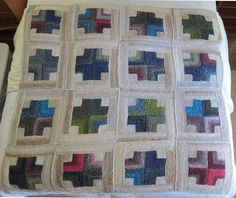 Dear Kay, I've been itching to show you how my Mitered Crosses Blanket turned out. When last seen, my 16 squares lay forgotten in a bathtub. I was leaving for the summer, thought I should give my squares their bath…ReadMore›