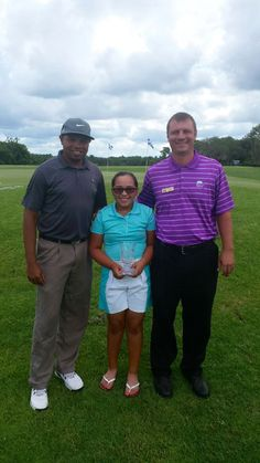 Izzy M. Pellot , Phil and Tony and Wekiva Golf club congratulate Izzy on placing 4th 2015 USKids World Championships