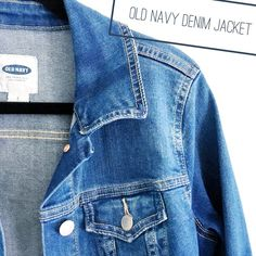 Old Navy Denim Jacket Old Navy denim jacket. Only worn a couple times so it is in great condition. Last photo shows all the fun ways you can style a piece like this! Old Navy Jackets & Coats Jean Jackets