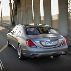 For passengers in the rear, the Mercedes-Maybach S600 is the world's quietest production sedan.  #Mercedes #Benz #Maybach #S600 #MBPressDrive #instacar #carsofinstagram #germancars #luxury