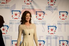 Charlotte Jones Anderson Inducted into the Arkansas Sports Hall of Fame - 5 Points Blue
