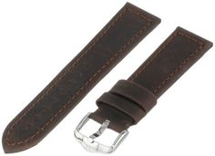 Hirsch 046330-10-22 22 -mm  Genuine Leather Watch Strap >>> Click image for more details.