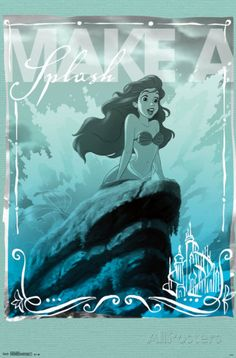 Ariel - Splash Poster at AllPosters.com