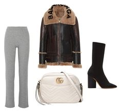"""""""Claire"""" by babemagnet ❤ liked on Polyvore featuring adidas Originals, Balenciaga, Theory and Gucci"""