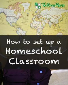A tour of my homeschool classroom and tips on how I incorporate Montessori and hands-on elements into school time.