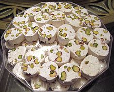 Gaz (candy),is the traditional name of Persian nougat originating from the city of Isfahan .