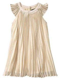 Gap Pleated dot dress - such a sweet-looking, classy dress