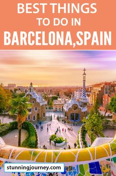 Heading to beautiful and vibrant Barcelona, Spain? Here is what to do - the best activities in Barcelona (that you can do in three days). Where to go and what to see in Barcelona and many travel tips Madrid To Barcelona, Barcelona Things To Do In, Barcelona Spain, Barcelona Travel, Voyage Europe, Europe Travel Guide, Backpacking Europe, Travel Destinations, Destination Voyage