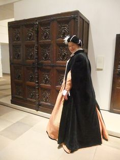 Mary Queen of Scots' cupboard, brought back to Scotland from France when she became a widow (National Museums Scotland - collections)