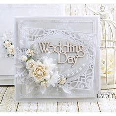 Scrap Art by Lady E: Wedding cards - Wild Orchid Crafts DT and free digi :)