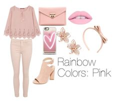 Rainbow Colors: Pink by moonstar843 on Polyvore