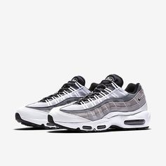 6d749cbcacc93 Nike Air Max 95 Essential Mens White Wolf Grey Cool Grey Black Sale UK