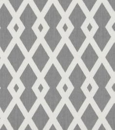Fabric- Robert Allen at Home Best Fret Nickel @ Joanns. Living Room curtains?