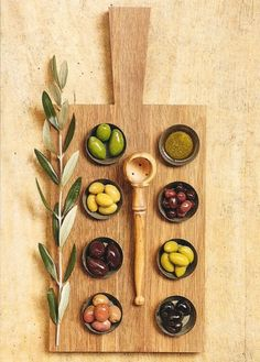 #Beautiful board of mixed #olives.
