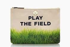 'Punning Find' from kate spade New York.  It's the EASY way to play the field.  Selling on our ebay shop today.  Luv, #ICONOGRAPHIE