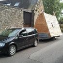 une cabane mobile