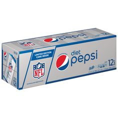 """Diet Pepsi Cola, 12 ct, 12 oz Cans (Packaging May Vary): Great taste of original Pepsi without the calories. """"It's the Diet Cola"""" Diet Pepsi, Pepsi Cola, Gourmet Recipes, Snack Recipes, Junk Food Snacks, Beer Packaging, Healthy Drinks, Soda, Lose Weight"""