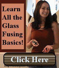 Basics of kiln fused glass: instructions, firing, fusing, fused glass