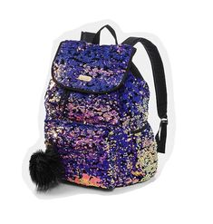 Looking for Justice Girls Purple Velvet & Reversible Sequin Rucksack Backpack ? Check out our picks for the Justice Girls Purple Velvet & Reversible Sequin Rucksack Backpack from the popular stores - all in one. Cool Backpacks For Girls, Cute Backpacks For School, Cute Mini Backpacks, Stylish Backpacks, Justice Backpacks, Justice Bags, Justice Stuff, Galaxy Backpack, Sequin Backpack