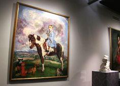 Retrato de Cayetana de Alba, realizado por Zuloaga, que puedes ver en la exposición de la Casa de Alba en Madrid
