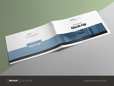 Check out Brochure Mock-Up / A4 Landscape by Mockup Cloud on Creative Market