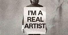 L'artista, colui che non lavora