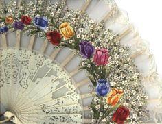beautiful lace fan