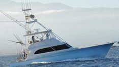 Made for luxury, The Excellence offers only private deep sea fishing charters that are fully catered to the anglers needs and wants. Experience the full all inclusive package on the Buddy Davis boat - Largest in Maui Sport Fishing, Fishing Tips, Fishing Boats, Tuna Tower, Black Forest Ham, Fishing Vessel, Fishing Charters, Fishing Yachts, Sailing Yachts