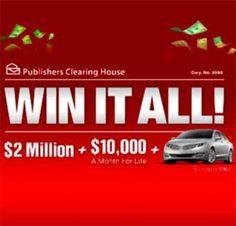 PCH 5000 A Week Sweepstakes Winner
