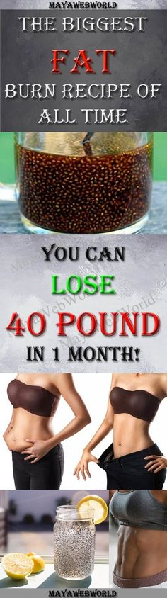 The Biggest Fat Burn Recipe Of All Time Is In Front Of You! You Can Lose 40 Pound In 1 Month! – MayaWebWorld