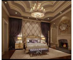 Luxury Master Bedroom luxury master bedroom on behance | modern master bedroom design