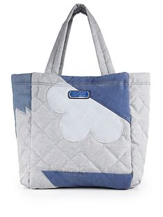 MARC BY MARC JACOBS Crosby Quilted Denim Tote