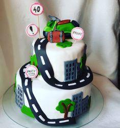 Fondant, Birthday Cake, Party, Desserts, Food, Work Shop Garage, Tailgate Desserts, Deserts, Birthday Cakes