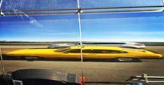 El espejo de la autopista