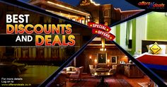 Offersndeals has the best deals and discounts for hotel rooms in India. Get best deals visit website.
