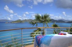 Make time for a massage while visiting St. John...Now that's what I'm talking about!
