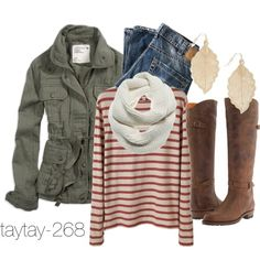 """""""Fall Outfit"""" by taytay-268 on Polyvore"""