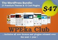 Besides these 34 WordPress products, you will also get 20 video tutorials that will teach you everything, starting from the Dashboard to Settings or various useful tools.