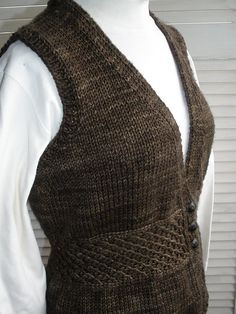 Ravelry: Project Gallery for Memory Vest pattern by Vera Sanon