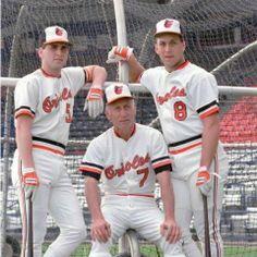 Cal Ripken, Sr ,Cal Ripken, Jr and brother Bill Ripken
